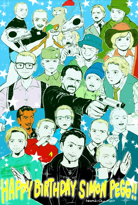 Happy Birthday Simon Pegg!!                !!
