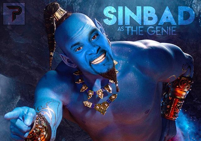 Remember that movie with @sinbadbad as a genie that doesn&#39;t exist? . . . There, I fixed it.  I would watch the hell outta this movie! #MissedOpportunity #TheGenieWeDeserve #Aladdin2019 #ThereIFixedIt #Genie  http:// bit.ly/2tjTlG1  &nbsp;  <br>http://pic.twitter.com/yuAyv0tCpk