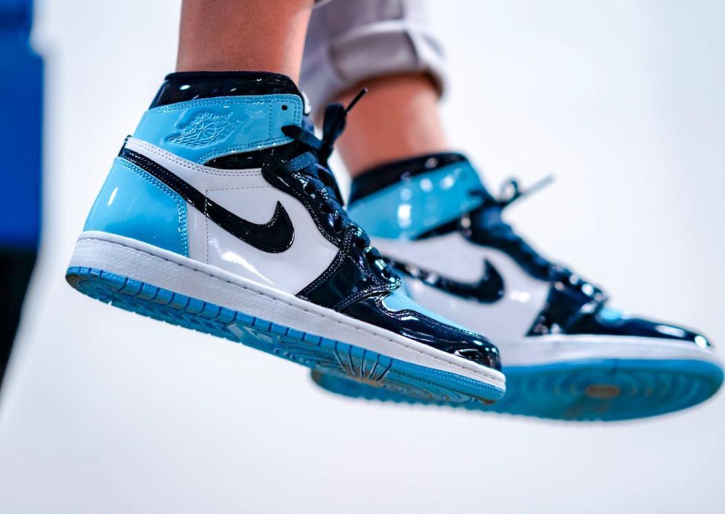DROP IN 12 HOURS Womens Retro Air Jordan 1 High OG  BLUE CHILL  SNKRS   FOOTLOCKER  SHOEPALACE  FOOTACT  CHAMPS  FNL  e591e69e3
