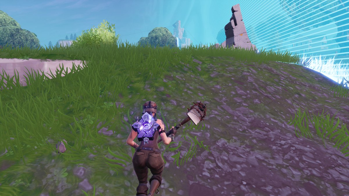 Apparently, if you merge Purple Skull Trooper on an account, you lose it and get the Purple Ghost Portal backbling @JestainzYT<br>http://pic.twitter.com/7wIcttkL0P