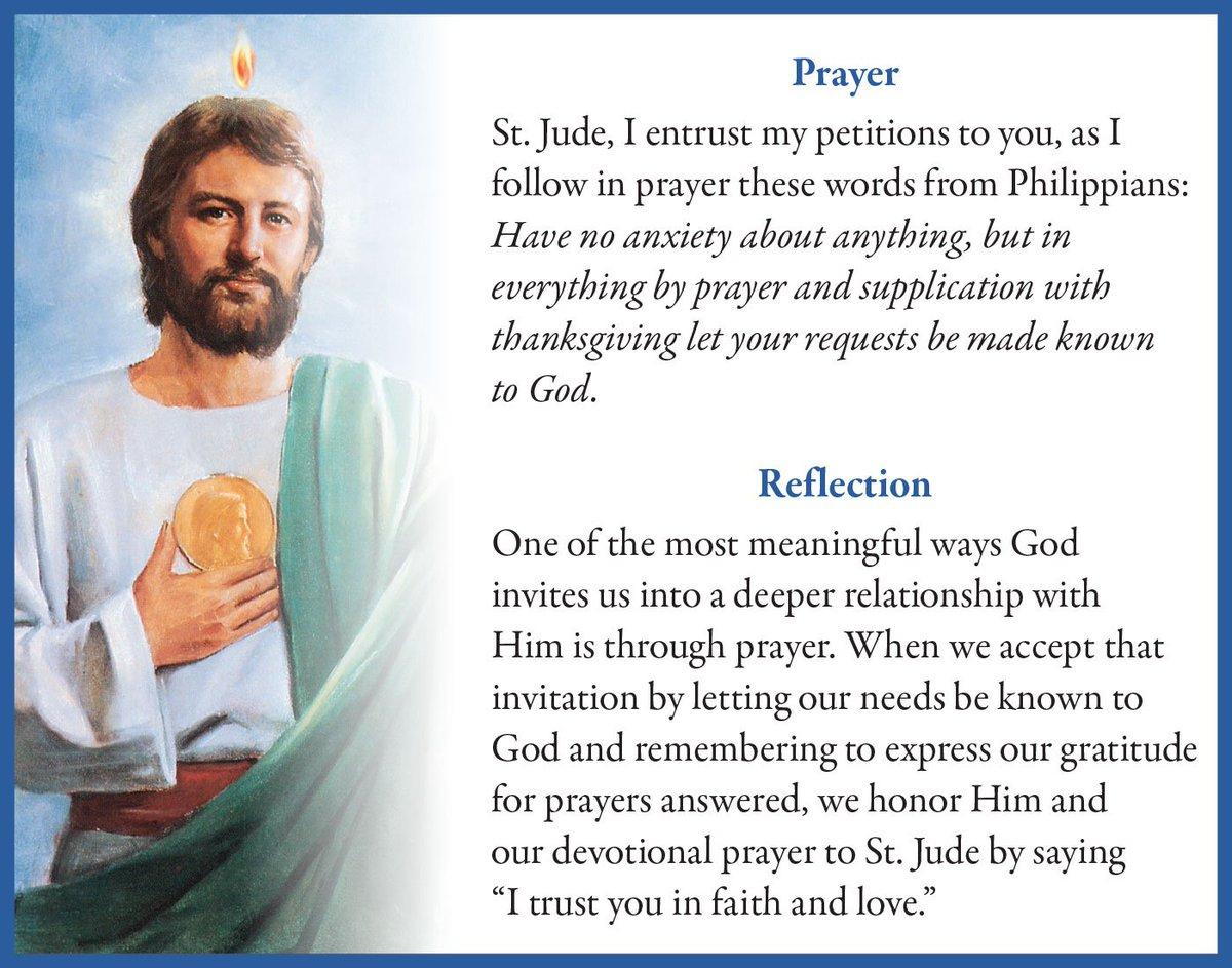 Shrine of St  Jude on Twitter: