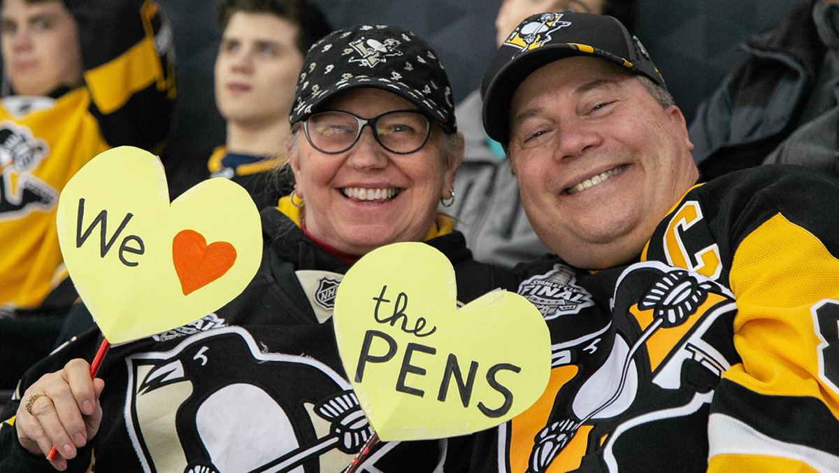 We ♥️ the Pens too.  Game back on.  #LetsGoPens