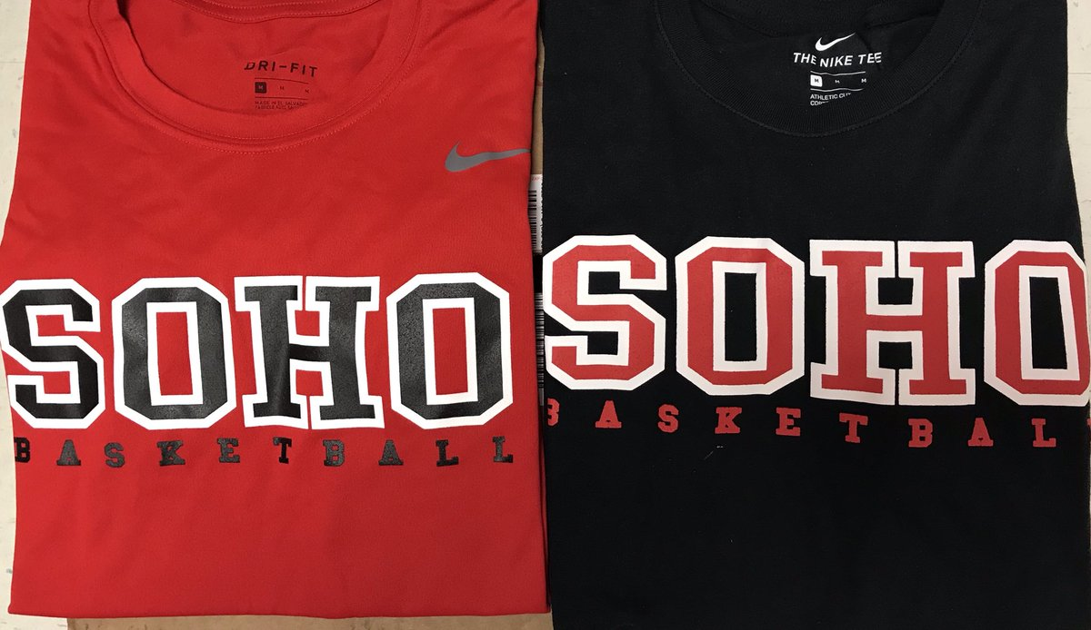 555e5f09 Playoffs, Black Nike Cotton, and the Red Nike Dri Fit basketball shirts go  on sale tomorrow. Get one while they last and wear it to the playoff game.