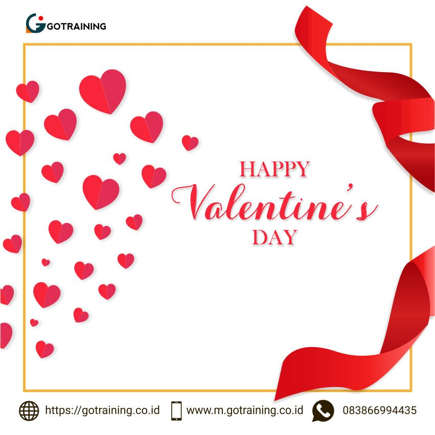 daThere's nothing more special than spending time with someone that you care the most. Happy valentine's day. Follow @Gotraining_coid dan temukan berbagai informasi menarik lainnya😉  #Valentines #ValentinesDay #ValentinesDay2019 #FYI #HappyValentinesDay #HappyValentinesDay2019