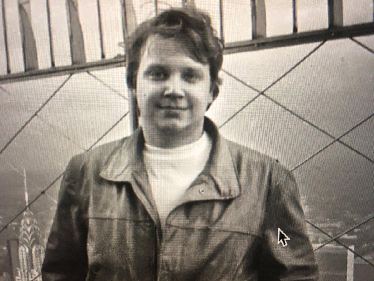 Me, mid 1980's NY, 200 pounds ago.
