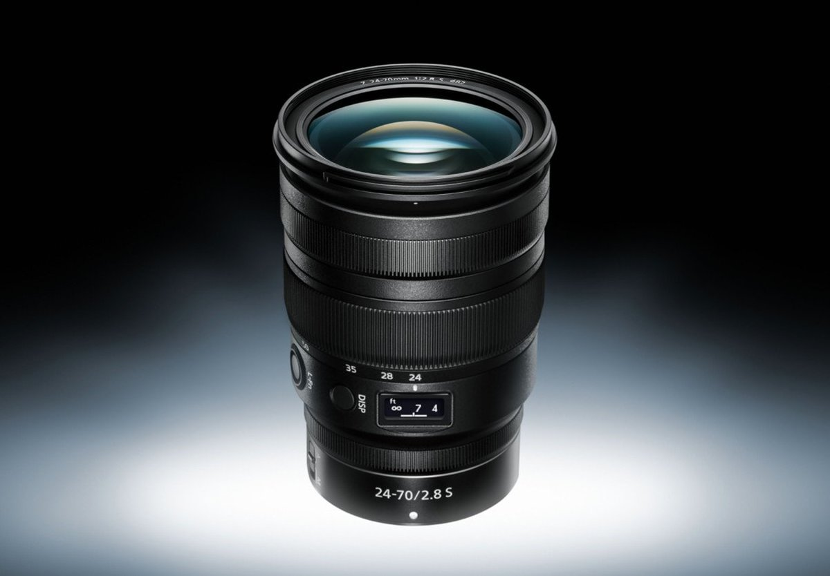 Nikon adds a more professional 24-70mm f/2.8 lens to its Z mount lineup