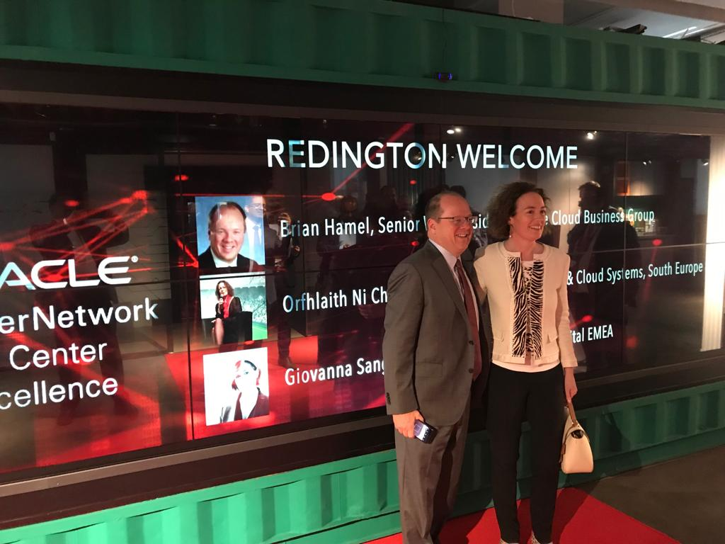 Great to see the @RedingtonValue-Oracle Cloud Centre of Excellence in Dubai. I invite our @Oracle_ME Partners to use as much as possible to support your customers. @brianhamel6 #OOWDXB @oracleemeaps<br>http://pic.twitter.com/3WSVwPDdzC