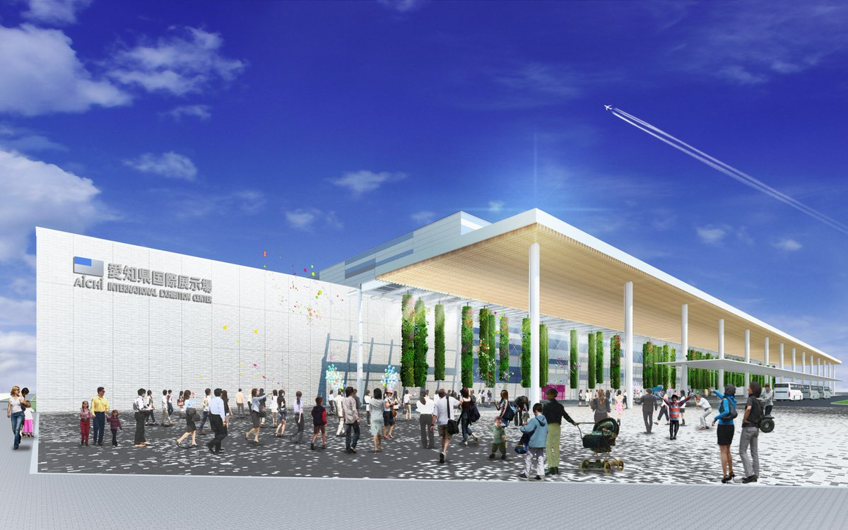 Aichi Sky Expo, the world-class #exhibition facility in the heart of #Japan, opening in August 2019, launches its new website. Available in Japanese, English and Chinese, check it here ➡️http://www.aichiskyexpo.com