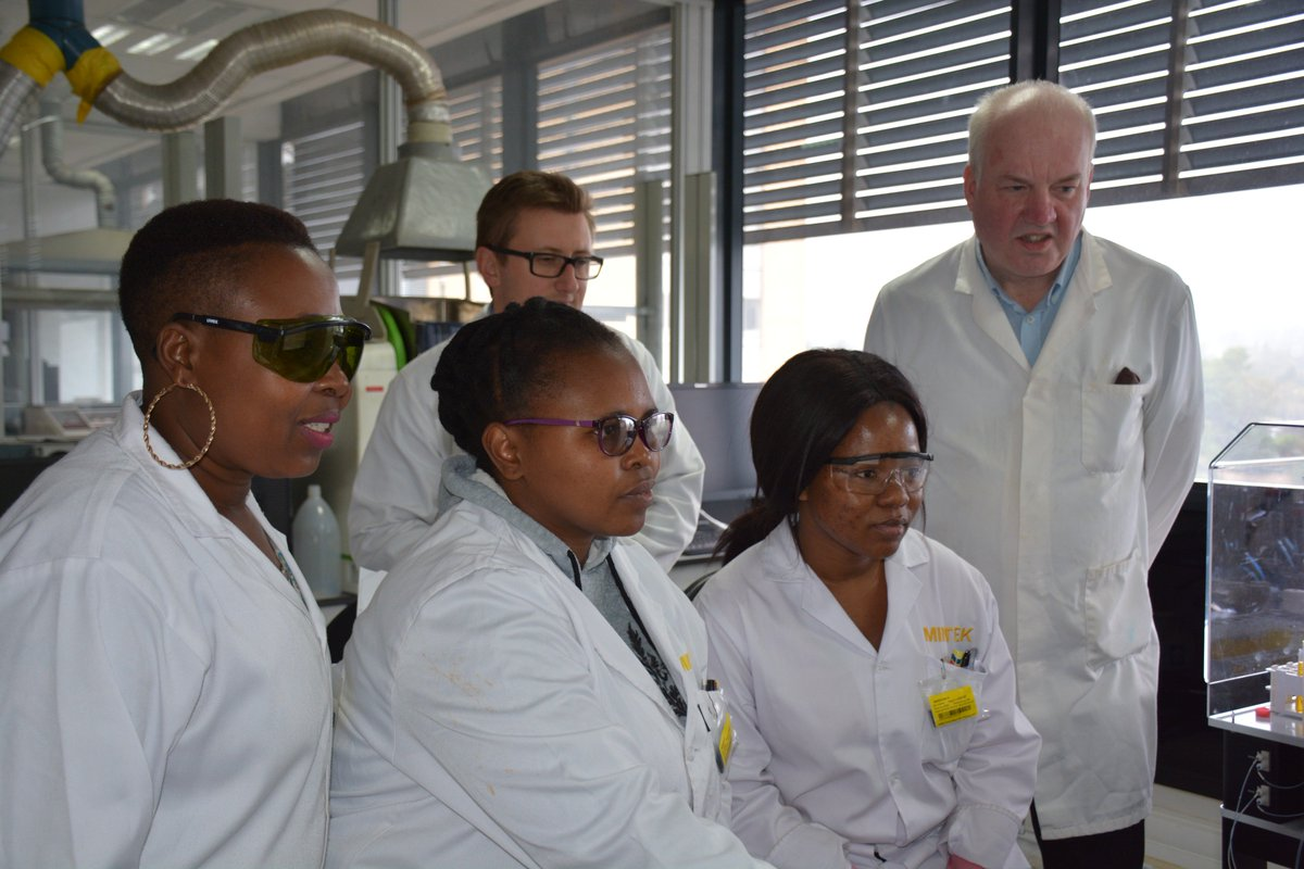 A new Inductively Coupled Plasma - Mass Spectrometry (ICP-MS) is being commissioned at the Analytical Services Division @Mintek_RSA & the training is underway at our Lab. ICP-MS is a type of mass spectrometry which is capable of detecting metals, More here https://goo.gl/N49dsr