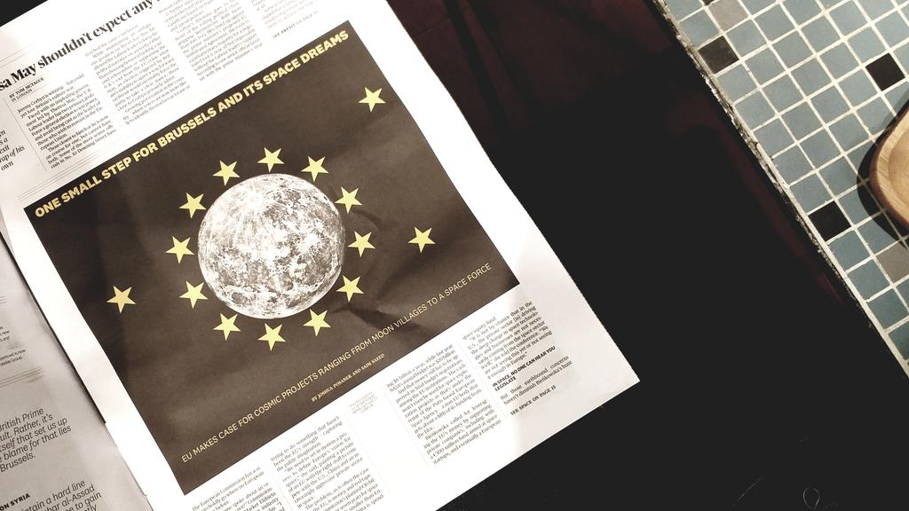 EU #space policy makes it to @POLITICOEurope with insights on Commissioner's @EBienkowskaEU intervention at the #EUindustryDays
