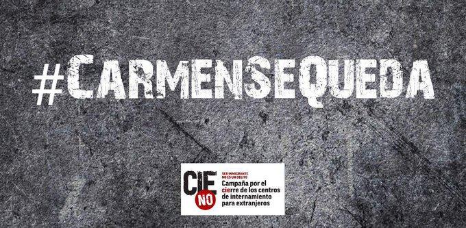 #CarmenSeQueda Foto