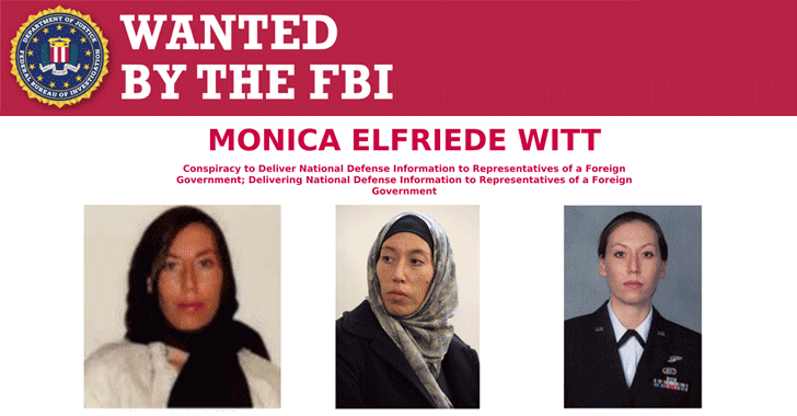 A former U.S. Air Force counterintelligence officer, who defected to Iran in 2013, has been charged with revealing classified military information to Iran & helping state-sponsored hackers conduct hacking operation against her fellow agents  https://thehackernews.com/2019/02/iran-hacker-wanted-fbi.html …  by @Swati_THN