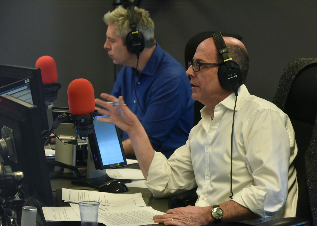 Good morning. @bbcnickrobinson and @justinonweb are presenting #r4today