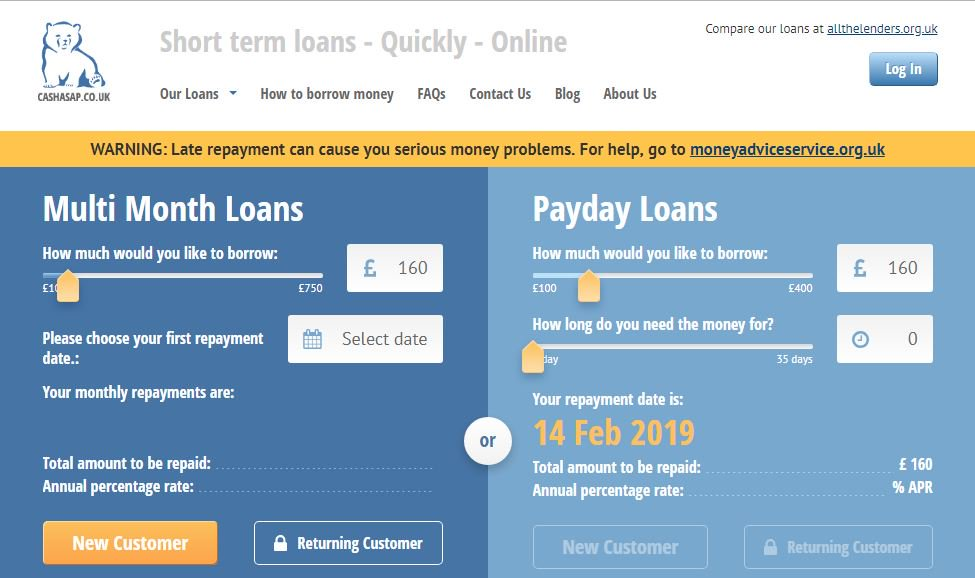 loans direct lender