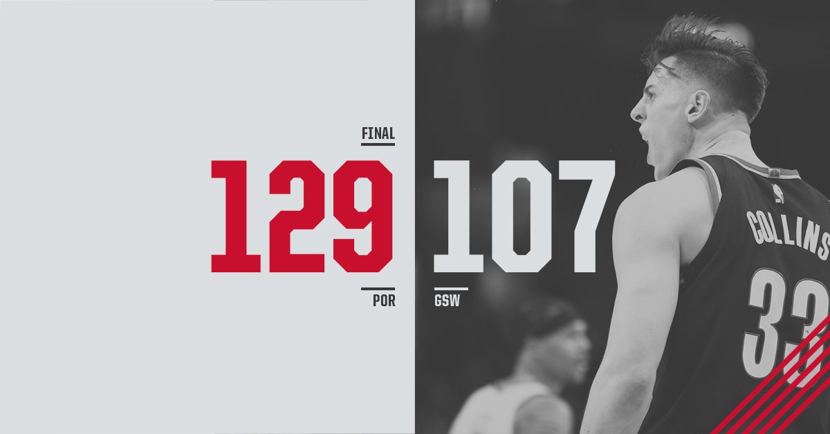 Trail Blazers's photo on #RipCity