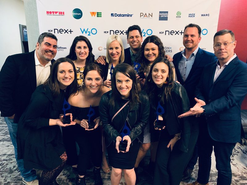 Six SABRE Award wins. Great night for a great team.  #in2SABRE