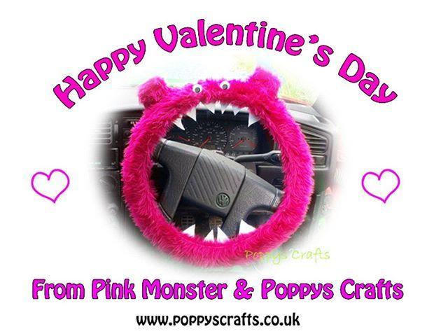 RT https://twitter.com/brendaogarrett/status/1095971122712100864… RT https://twitter.com/brendaogarrett/status/1095950812268896256… RT https://twitter.com/PoppysCrafts/status/1095930300004212736… Happy Valentine's Day ! :) #happyvalentinesday #valentines #caraccessories #pinkmonster #steeringwheelcover…