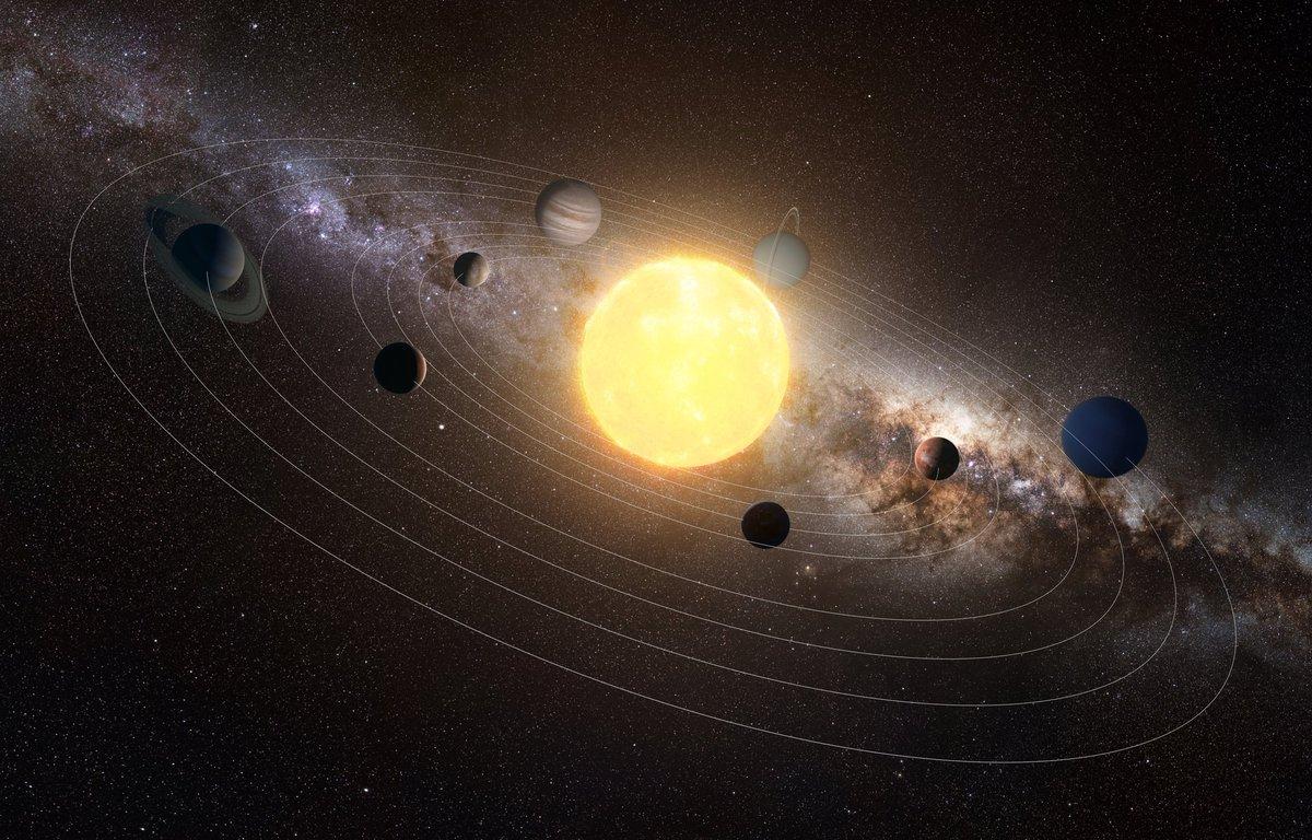 Планеты вокруг солнца фото