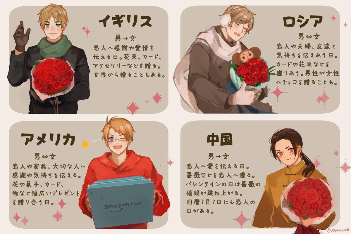 世界のバレンタインはこんな感じ!!女性から贈るのは日本だけ!?