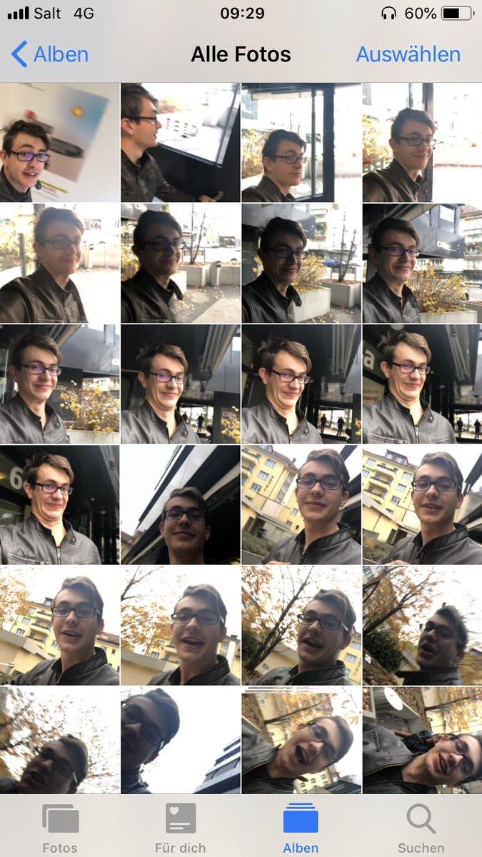 wenn jemand aus deiner Schule dein Handy klaut und so 100 Bilder macht