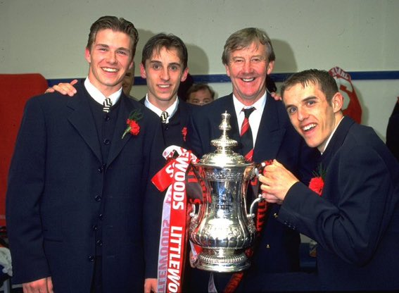 Eric Harrison, one of footballs greatest people has sadly passed away. Responsible for the development of The Class of 92 and so many other great players that came through the @ManUtd academy he was one of the clubs biggest heroes. RIP Eric