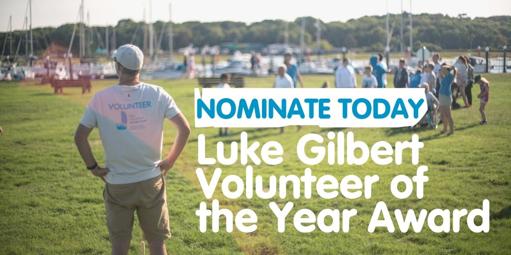 Today is your last chance to place a nomination for the Luke Gilbert Volunteer of the Year Award 👇 https://t.co/THMYonGEnq