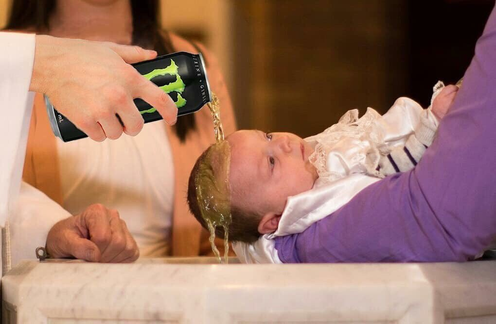You are now baptised