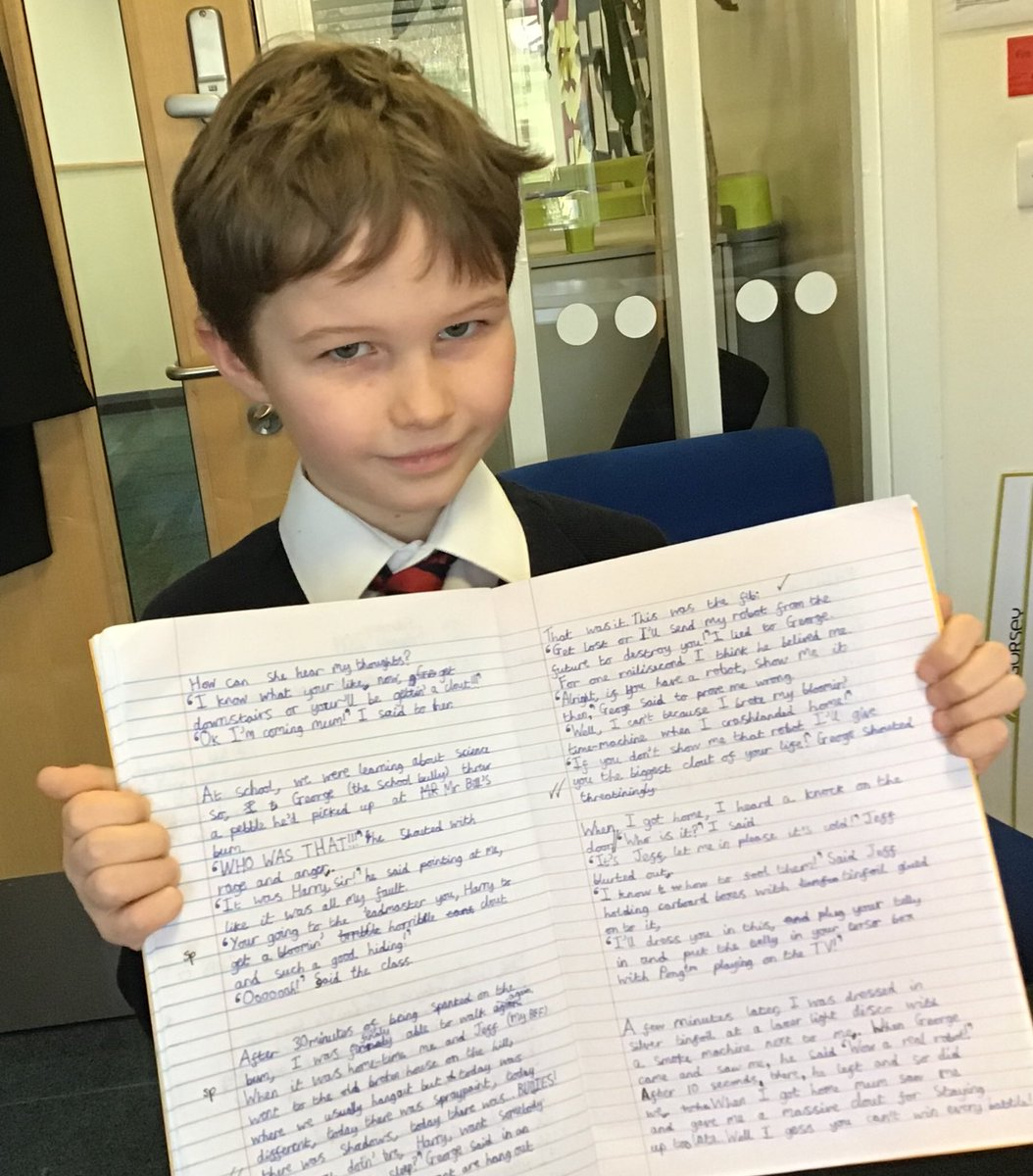 test Twitter Media - Well done to this writing star for producing an entertaining tale inspired by one of ⁦@GorseyY5⁩ bookshelf texts, The Fib by ⁦@Thegeorgelayton⁩ #gorseyenglish #gorseybookclub #possibilities https://t.co/QOwWi41TCv