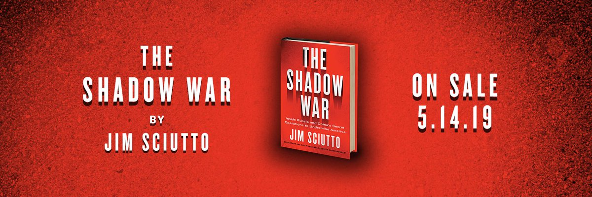 ef4789cb699 ... from Ukraine to South China Sea to the Arctic   beyond. Pre-order here   https   www.harpercollins.com 9780062853646 the-shadow-war …pic.twitter.com   ...