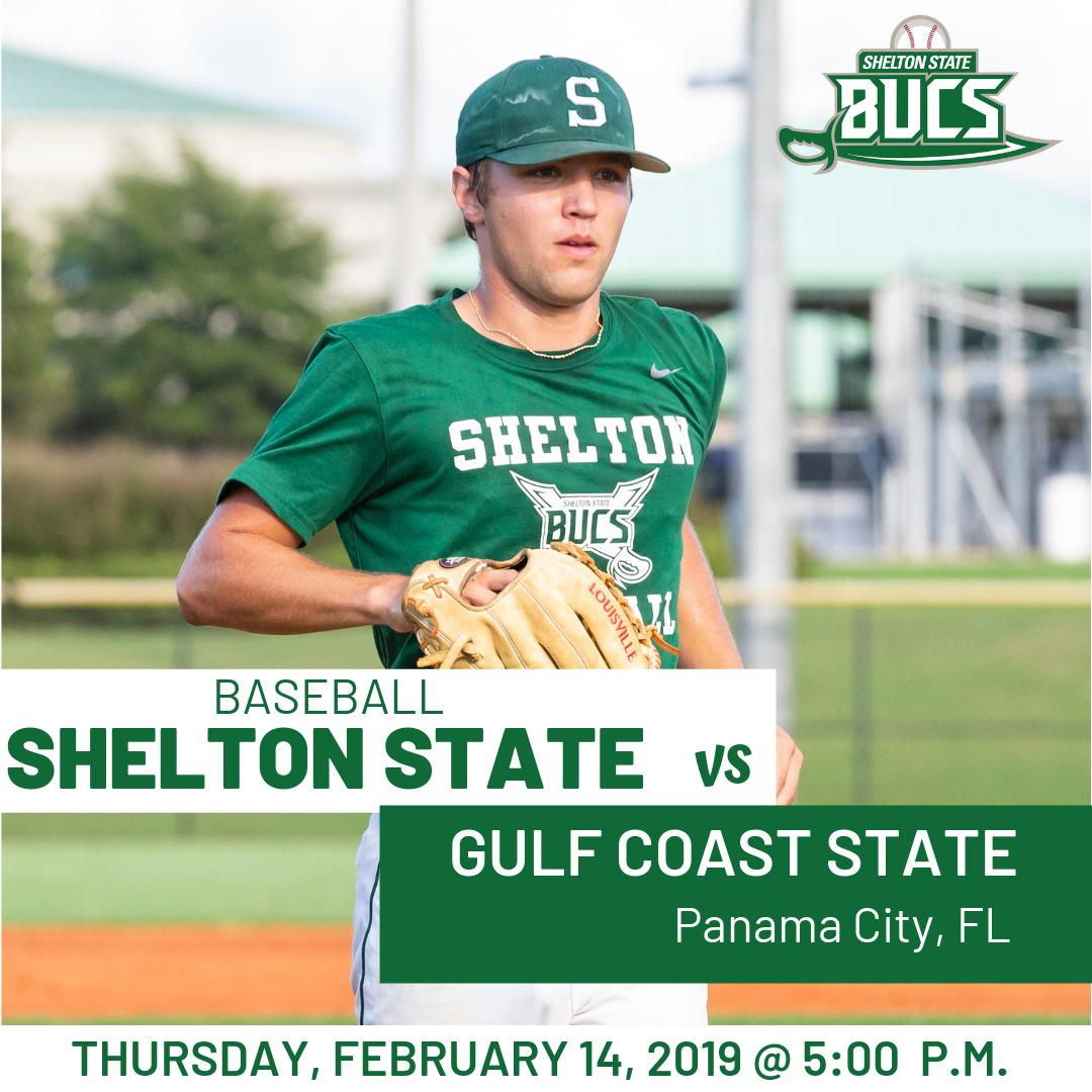 It&#39;s GAME DAY!  : Baseball : Gulf Coast State : 5:00 p.m. : Panama City, FL  Go Bucs! #SSCCAthletics<br>http://pic.twitter.com/zqhdrzqfR4