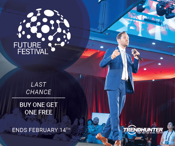 Last chance to take advantage of our Valentine's Day #FutureFestival promo! Today is the final day to buy one ticket and get a second FREE, so don't wait. See you there!  https://t.co/kkpiuZbFKJ
