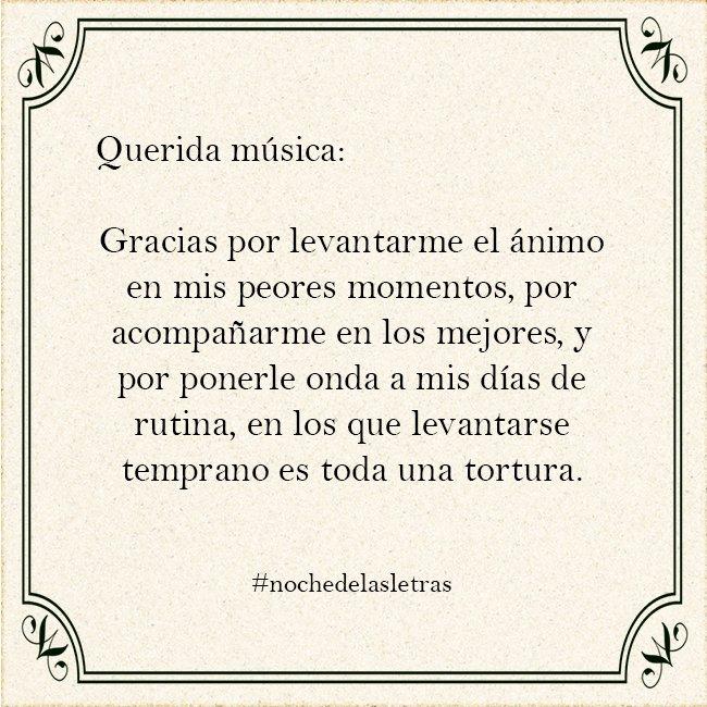 Noche De Las Letras En Twitter Nochedelasletras Frases