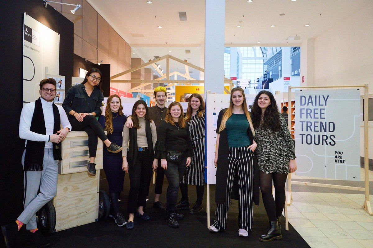 @FuturethinkILS team would like to thank @ambiente for inviting us to the fair and allowing us to inspire our followers with our Trend Tours. We also want to thank all the companies, designers and all the participants for joining our Trend Tours!✨ #ambiente19