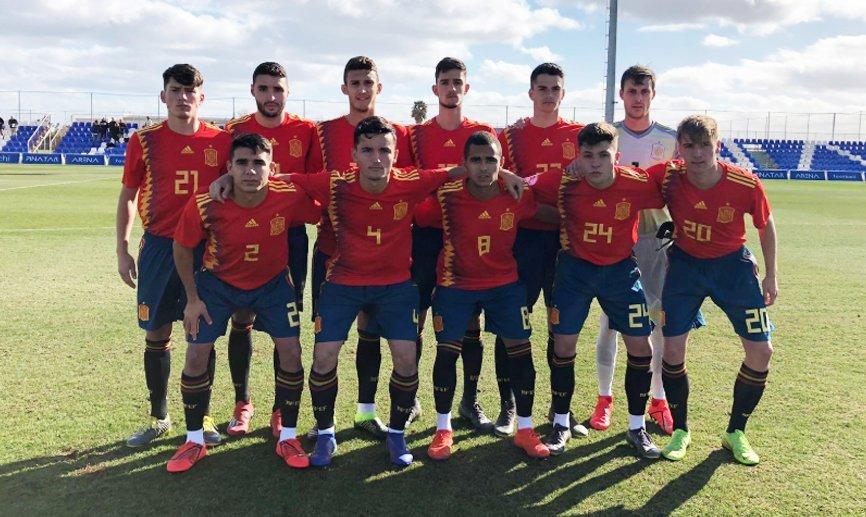 👨🏻💻 CRÓNICA   La Sub-19 cierra con empate ante Escocia su fase de preparación en el @PinatarArena   🔗 http://bit.ly/Cronica140219