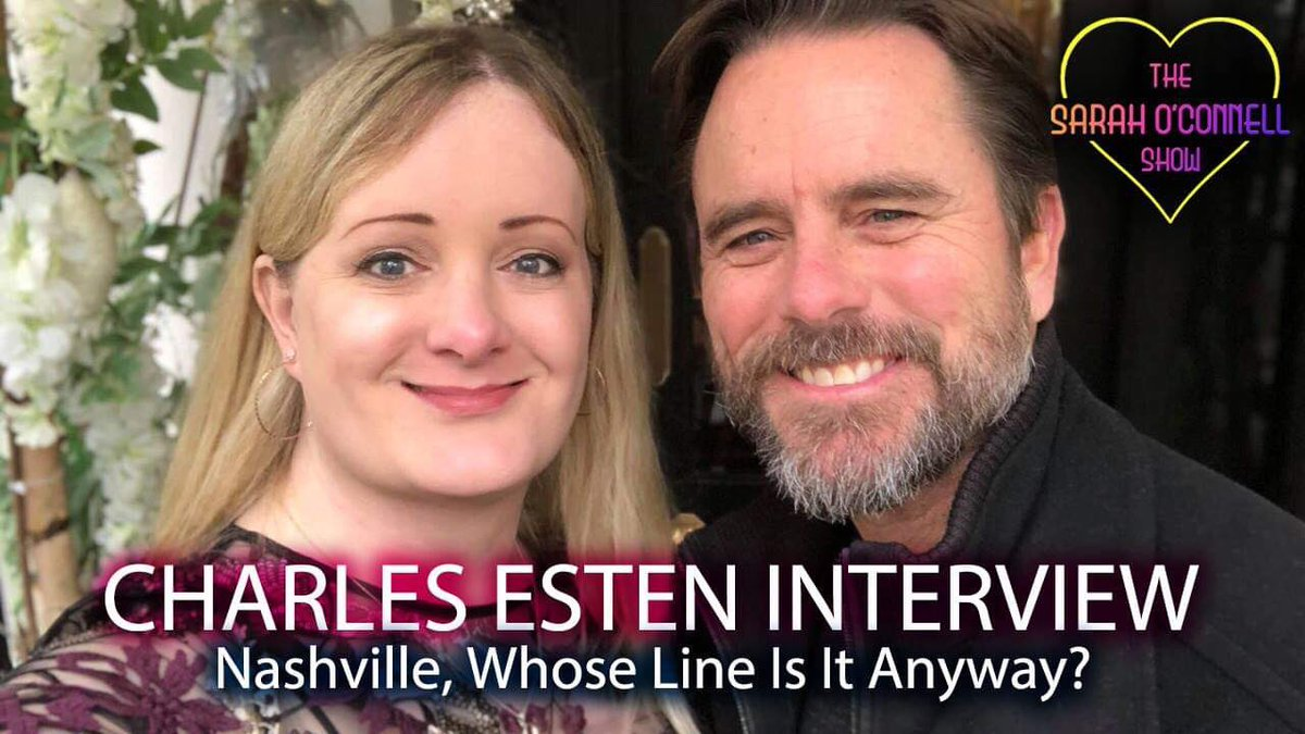 Watch my interview with @CharlesEsten - star of Nashville, Whose Line Is It Anyway and The Office! Subscribe & ENJOY: https://youtu.be/TYzHgPab9CE