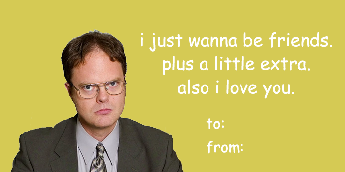 : Shoot your shot this #ValentinesDay. — 𝚝𝚑𝚎 𝚘𝚏𝚏𝚒𝚌𝚎 (theofficetv) February 14, 2019