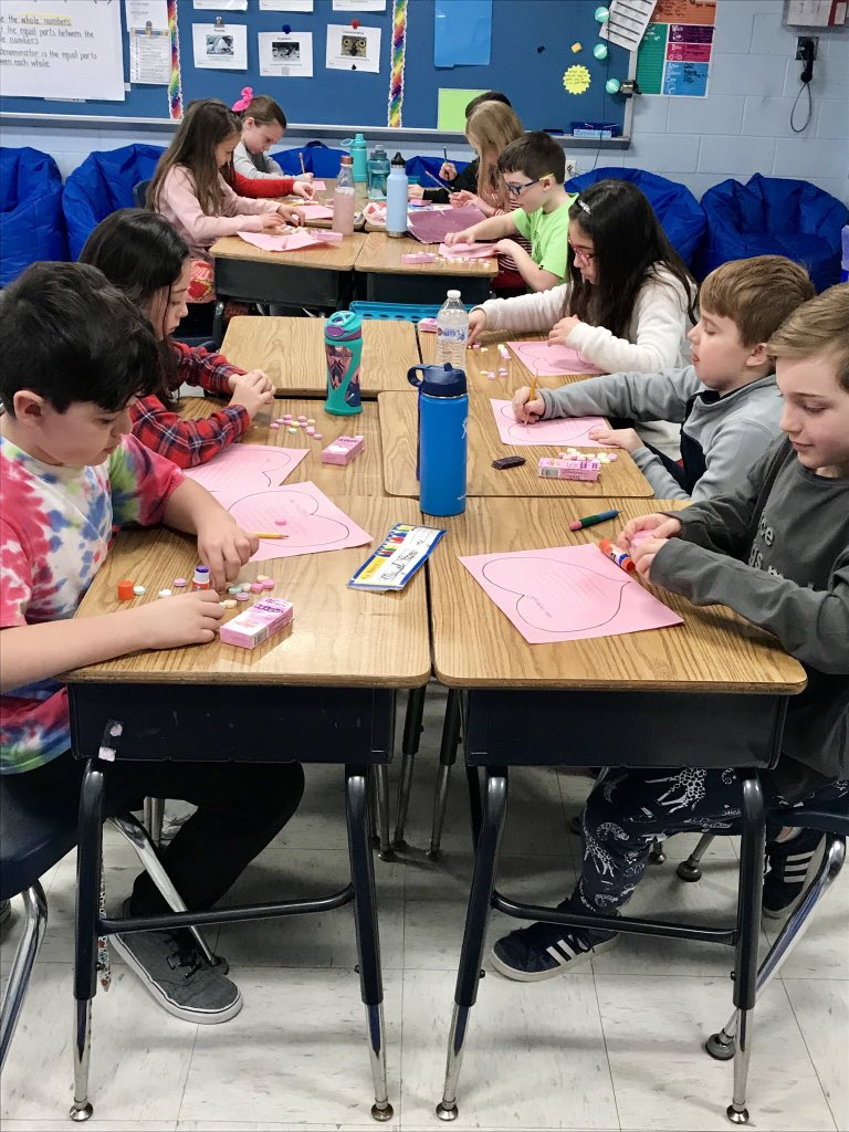 What better way to review punctuating dialogue on Valentine's Day than with Conversation Hearts?