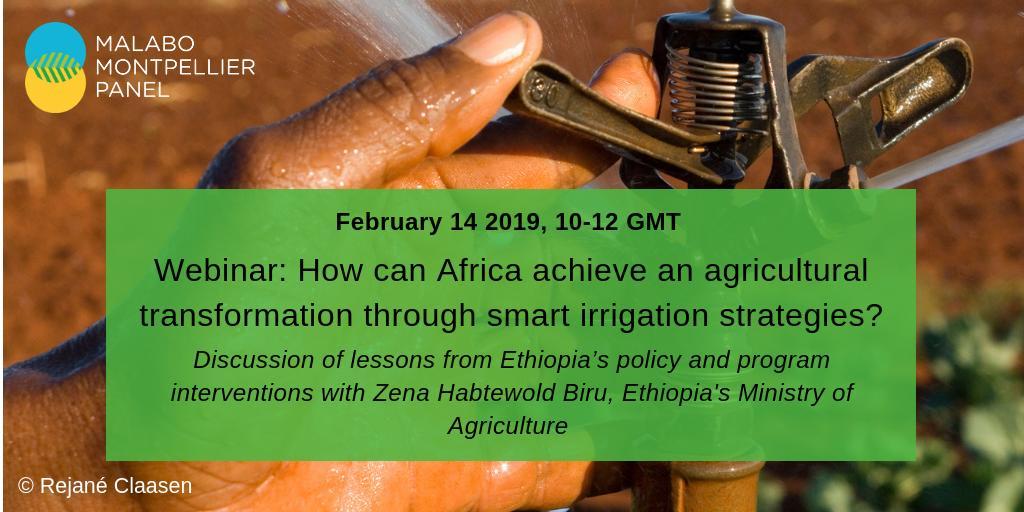 test Twitter Media - HAPPENINGNOW: #webinar on how Africa can achieve an agricultural transformation through smart irrigation strategies with Zena Habtewold Biru and @IFPRI Ousmane Badiane. @ReSAKSS @CGIAR @IITA_CGIAR @USAIDAfrica @AfDB_Group Join the webinar now:https://t.co/iiBfjgKe0z https://t.co/AdJMhcTEgB