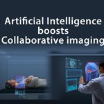 Image for the Tweet beginning: Artificial Intelligence boosts Collaborative imaging!