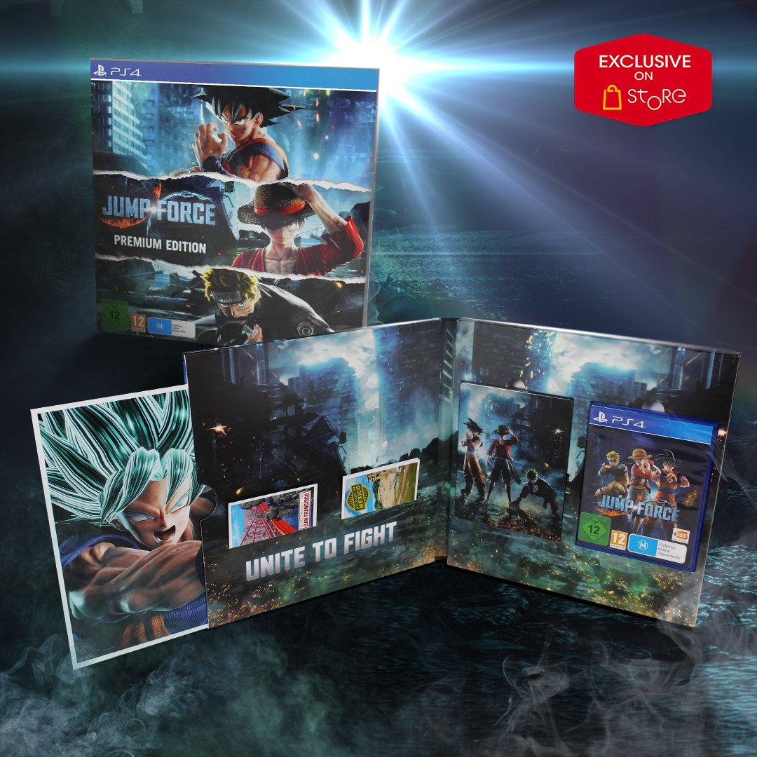 Scopri la fantastica Premium Edition di Jump Force, non fartela scappare! 😍 http://bnent.eu/preorderJUMPFORCE…