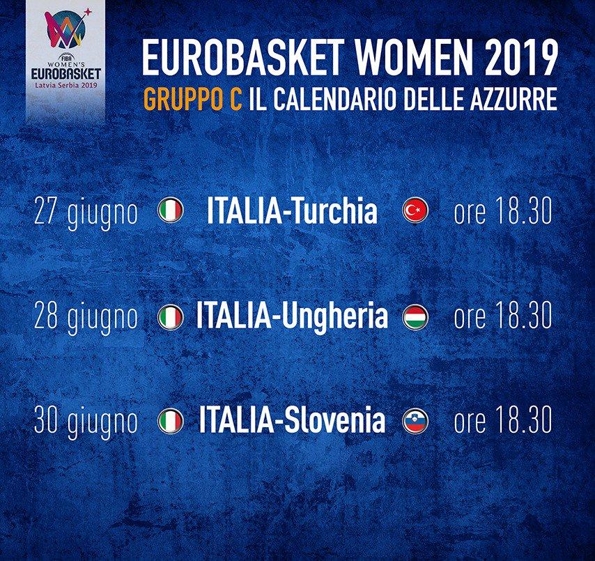 Italbasket Calendario.Italbasket S Tweet La Fiba Ha Definito Il Calendario