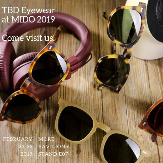 96b36099f3 The Bespoke Dudes Eyewear is glad to invite you to visit our stand at   MIDOExhibition  Pavillion 6