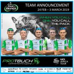 Image for the Tweet beginning: Team announcement for @Tour_du_Rwanda@ProTouchZA