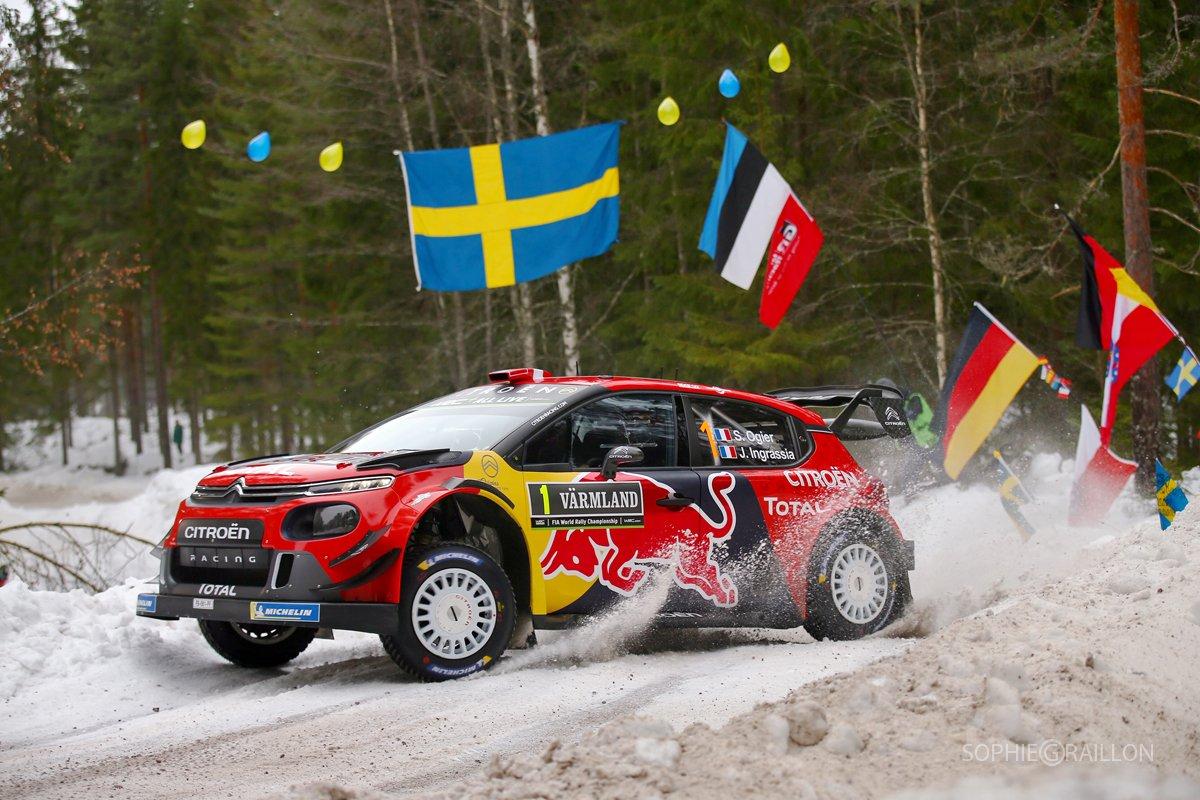 2019 Rallye de Suède  DzXO7ByX0AA30Wd