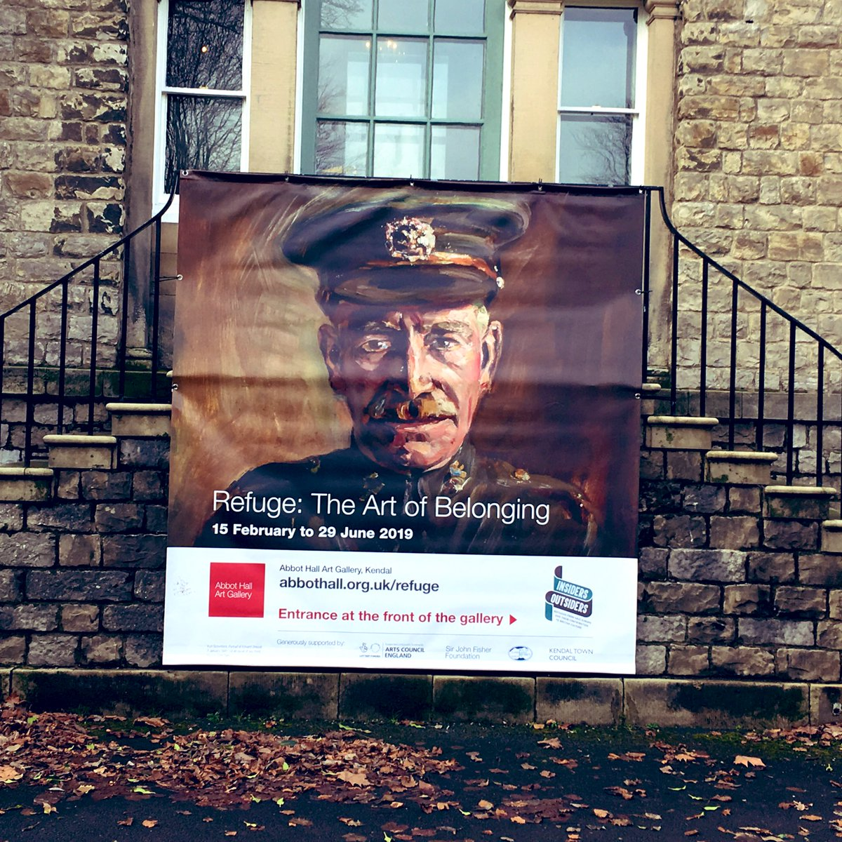 Opening tomorrow (Fri 15 Feb) Refuge: The Art of Belonging. Abbot Hall Art Gallery, #Kendal, #Cumbria. The artists who fled Nazi Europe and their contribution to British culture. #Schwitters #Goldschmidt #Auerbach #Freud #Coper & more. Not to be missed. Part of @iofestival