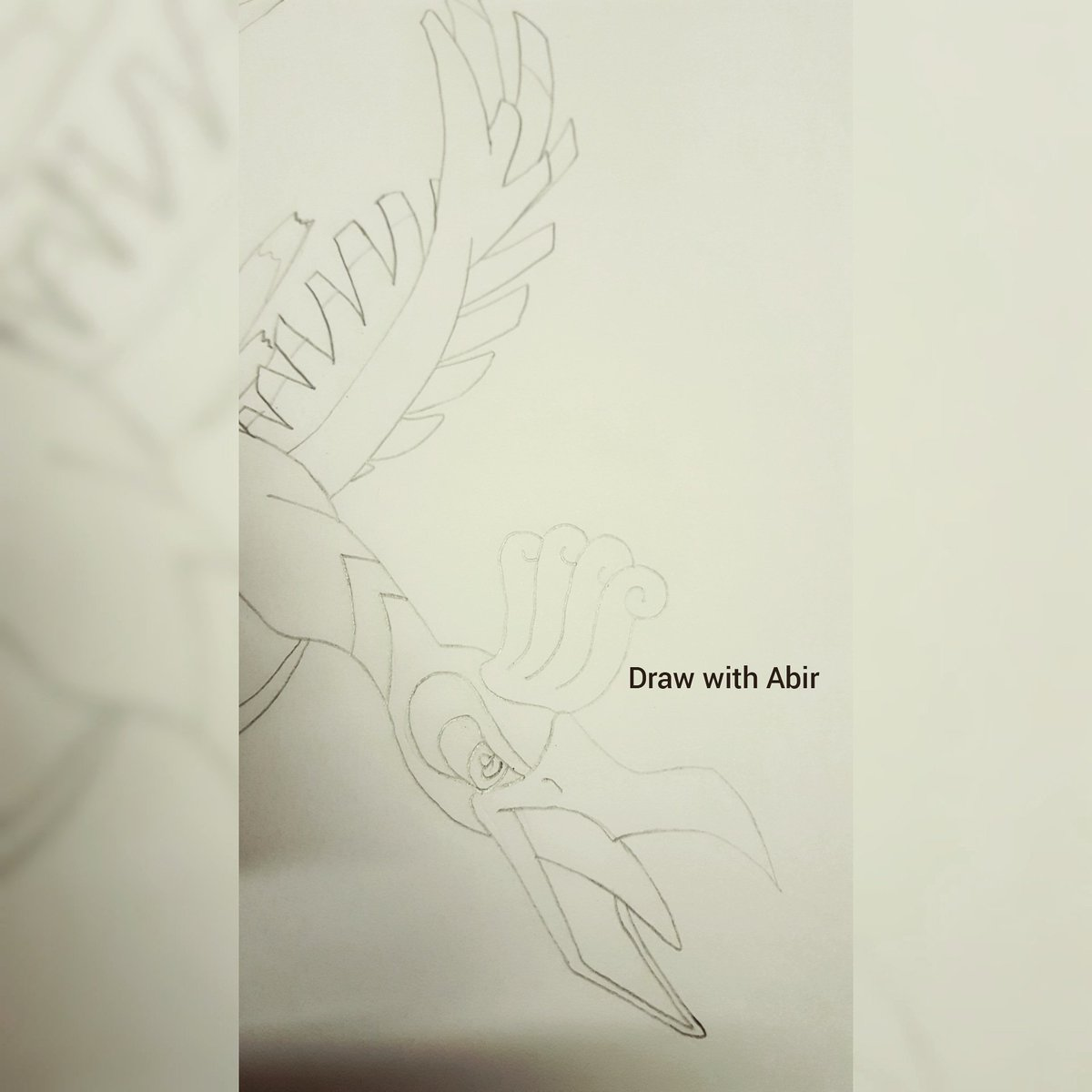Pokemon ho oh drawing video will be available soon on my youtube