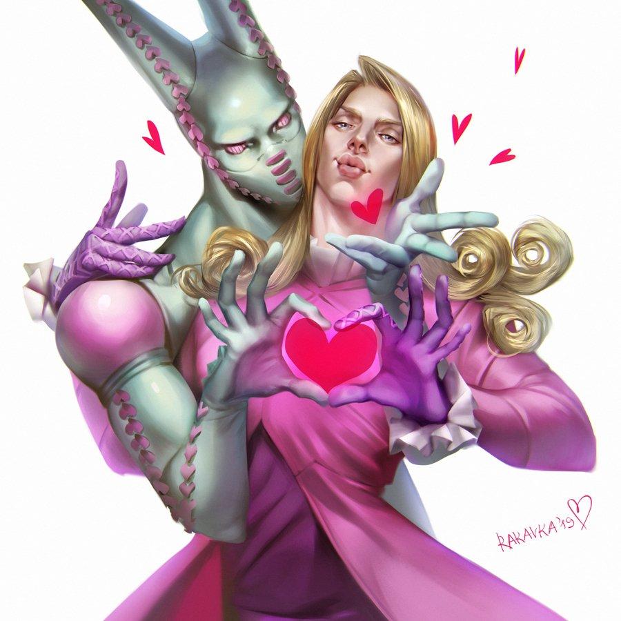 "rakavka on Twitter: ""happy Funny Valentine 💖💕💞 #jojo"