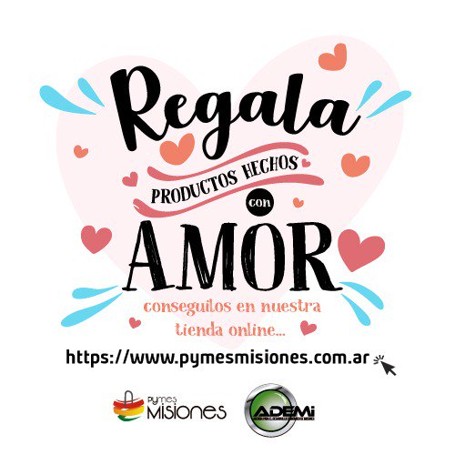 #FelizDiaDeLosEnamorados ya tenés el regalo para tu #amor? Tenemos propuestas en http://www.pymesmisiones.com.ar #SanValentín #Misiones #HappyValentinesDay #ValentinesDay2019 #SanValentin