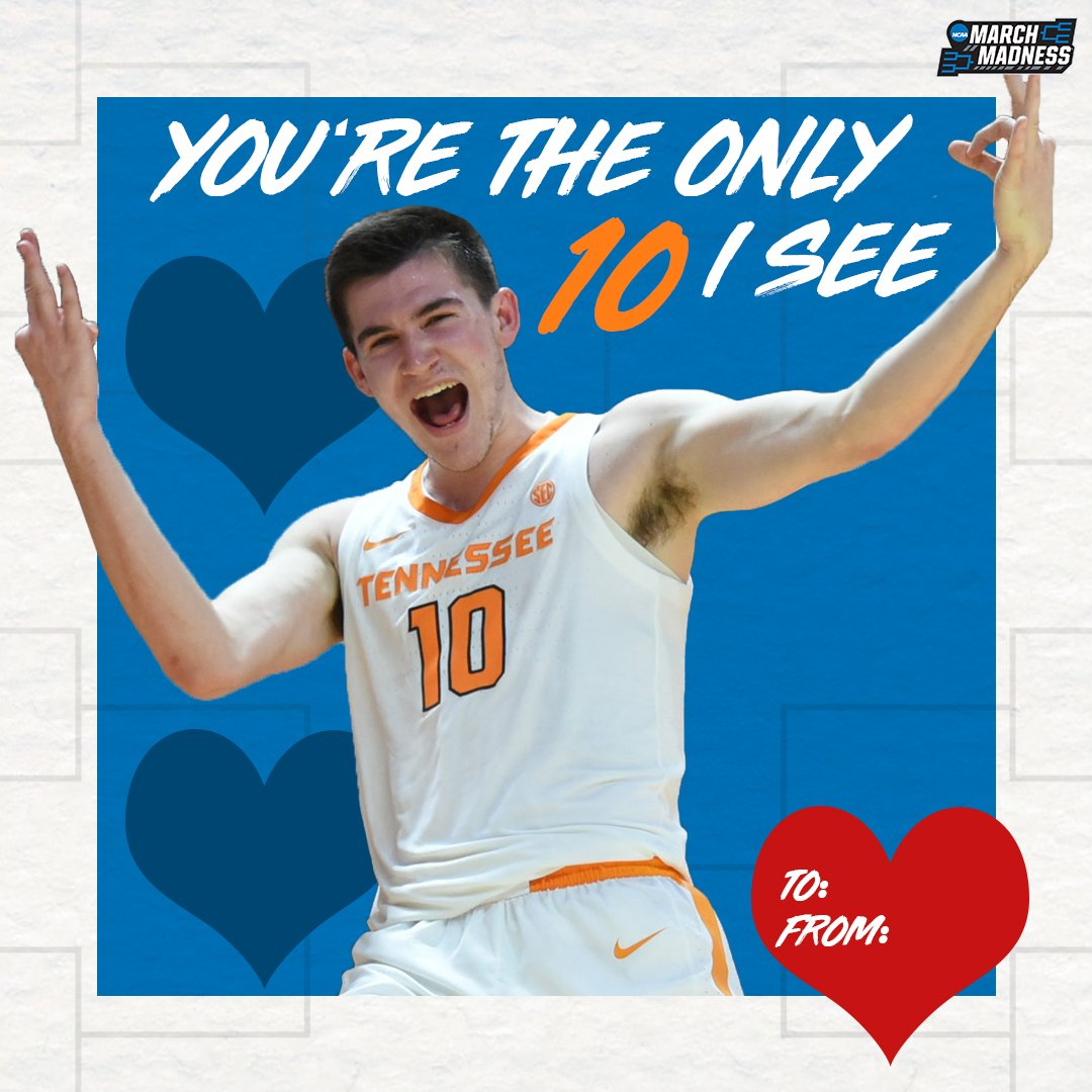 Are you from Tennessee?  @Vol_Hoops | #ValentinesDay