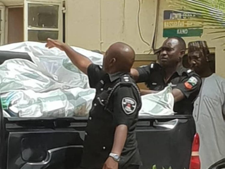 BREAKING:17 sacks containing thumb-printed ballots in Kano.The Police impounded 17 sacks containing thumb-printed ballot papers in Sabon Gari area of Kano Credible security sources tld DAILY NIGERIAN that the ballots have already been thumb-printed 4 d ruling APC @farooqkperogi